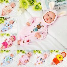 45cm Reborn Baby girl Doll Handmade Lifelike Newborn Preemie Toy Simulation Gift