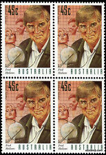 1995 Medical Science 45c Fred Hollows SG1554 Block of 4 MUH Mint Stamps