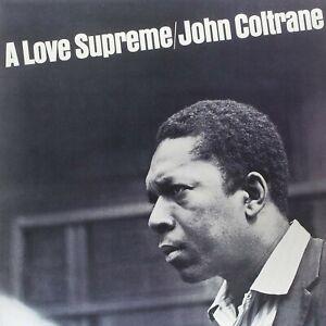 """Reproduction """"John Coltrane - A Love Supreme"""" Album Cover Poster, 16"""" x 16"""""""