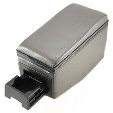 Gray Leather Car Arm Rest Armrest Centre Console Universal