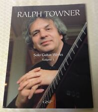 Ralph Towner Solo Guitar Works:  Vol. 1 (2002, Paperback) Sheet music