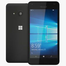 NOKIA Lumia 550 Windows 4G 8GB 1GB RAM Black Unlocked