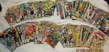 New listing Vintage comic book lot of 115 Marvel Dc