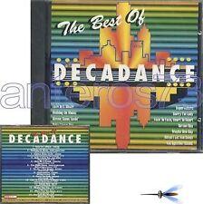 DECADANCE CD ITALO DISCO- CERRONE EASY GOING VIVIEN VEE