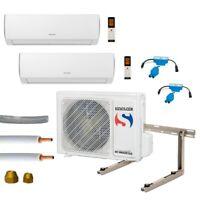 Klimaanlage Komplettset Multisplit Sinclair Wandgeräte 2x2,6kW