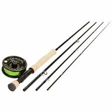 ECHO BASE KIT 890-4 9' FT #8 WT 4 PC FLY ROD INCLUDES REEL, LINE, LEADER & CASE