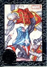 Marvel Universe 2014 Greatest Battles Cap. America Expansion Chase Card #107