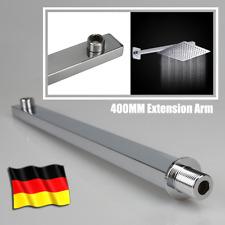 "Edelstahl Brausearm Deckenarm Zulaufarm Kopfbrausen Wandarm Duscharm 16""/40cm DE"