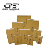 Pack of 25 - CPS Genuine Jiffy Gold Bubble Mailers Envelopes Bags - All Size