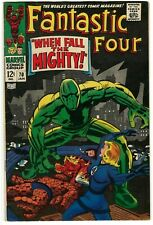 Fantastic Four #70, 71, 80 & 95 VG to F