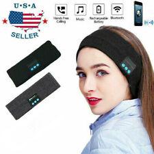 Wireless Bluetooth 5.0 Sports Stereo Headband Headphones Run Sleep Music Headset