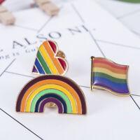 2019 Rainbow Flag Gay Pride Sex Lover Jacket Sweater Brooch Pin Badge Gift