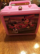 Vintage Mickey Mouse And Minnie Aladdin Lunch Box + Thermos