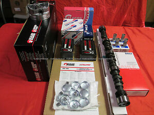 Chevy 327 360HP L79 MASTER Engine Rebuild Kit Forged Pistons Stage 2 Cam 1968
