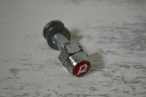 Vintage Raleigh R Nut Locking Seat Post Clamp Bolt & Washer