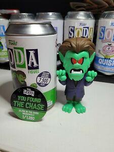 Funko Soda Werewolf glow chase