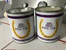 New 2-pack Lot Farnam Horse Health Products 32 Oz. Pine Tar Hoof Dressing 77456