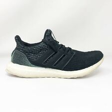 Adidas Mens Ultra Boost 4.0 Parley F36190 Black Running Shoes Lace Up Size 8.5