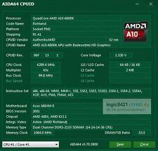 AMD A10-6800K 4.1GHz FM2 Quad-Core APU Processor