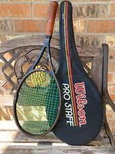 """Wilson PRO STAFF 85 Midsize St Vincent QYQ Racquets Racket 4 1/2"""" grip"""