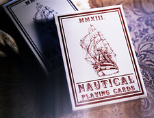 Nautical Playing Cards (Red) Deck by House of Playing Cards and Murphy's Magic