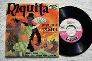 45 tours – Georgette Plana – Riquita