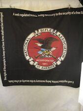 National Rifle Association Logo Blanket Wall Hanging NRA Logo Amendment Right