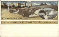 Buffalo NY Old Home Week Celebration 1907 Postcard
