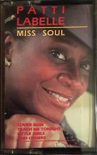 Patti Labelle Miss Soul Cassette Tape 1987 CBS Special Products