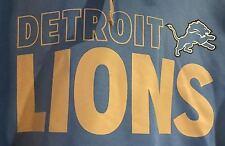 Nfl Detroit Lions TX3 Warm Hoodie LG *NEW*FREE SHIPPING*