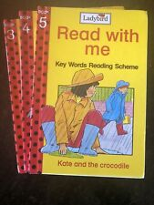 Used Ladybird Read With Me Books 3, 4 & 5 Set