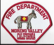 Moreno Valley Fire Department, California Shoulder Patch