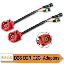 D2S D2R HID Bulb Retrofit AMP Type Aftermarket Ballast Adapter Converter Socket