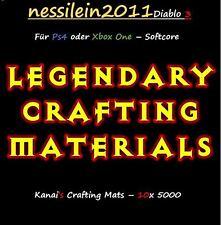 Diablo 3 ros ps4/Xbox One-Crafting mats - 10 x 5.000 mats-porno