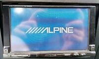 RARE VINTAGE / OLD SCHOOL CAR DOUBLE DIN ALPINE IVA-W205R + FREE IPOD