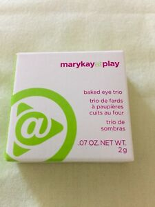 Mary Kay at Play Baked Eye Trio Out of The Blue ~NIB~