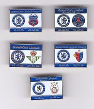 Collection Of 5 Chelsea European Badges