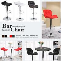 3 PCS Bar Table Set W/ 2 Stools Swivel Pub Stool Adjustable Kitchen Dining Chair