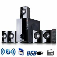 BEFREE SOUND 5.1 CHANNEL SURROUND SOUND HOME THEATER SPEAKER SYSTEM w/ BLUETOOTH