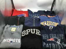 Clothing Lot 9 Cotton Casual Sports Sweatshirts Unisex Mix of Sizes and Brands