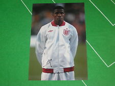 Manchester United Crystal Palace Wilfried Zaha Signed England Debut Photograph