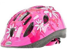 Raleigh Mystery Pink Flowers Girls Kids Bike Helmet Medium 52-56cm (return)