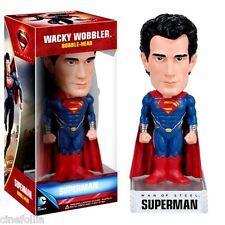 Bobble-head Superman Man of Steel Wacky wobbler ufficiale by Funko Dc comics
