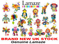 LAMAZE CLIP AND GO SOFT TOYS BRAND NEW FROM UK Play And Grow Pram Toys