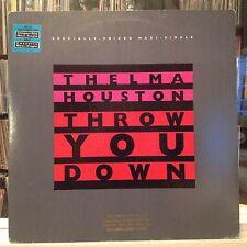 "NM 12""~THELMA HOUSTON~Throw You Down~Dub~Extended~Rave~Rave Dub~Ext Dub"