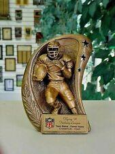 Fantasy Football Trophy 3-D Resin Award With Ffl Logo Free Text M*Rf2806