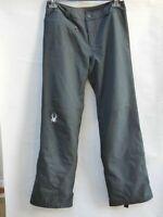 SPYDER Black Ski Snowboard Pants Bottoms Trousers UK 10 XTL 10/10K Spylon