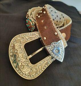 Pure Western Ladies Belt