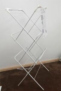 NEW CLOTHES AIRER 3 TIER LAUNDRY DRYER WINGED FOLDING IN & OOUDOOR DRYING RACK