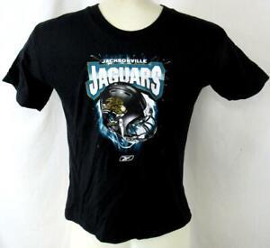 "Jacksonville Jaguars Kids L (7) Screened ""JAGUARS HELMET"" T-shirt AJJS 142"